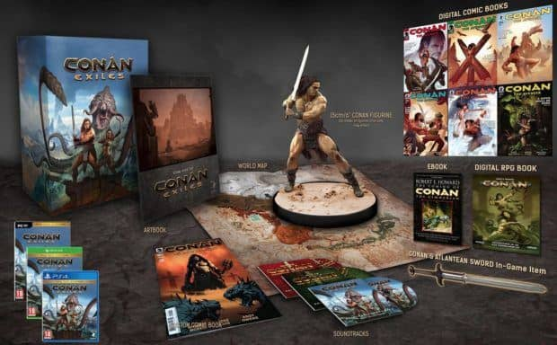 Conan Exiles Release Date Announced, Will Also Get A Retail And Collector's Edition
