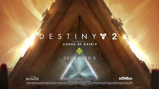 Destiny 2 - Expansion I: Curse of Osiris Launch Trailer