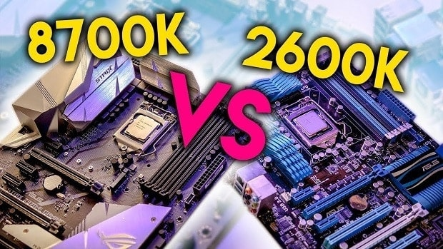 Sandy Bridge Vs Intel Coffee Lake