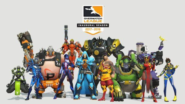 Overwatch League Announces Franchise Team Specific Skins