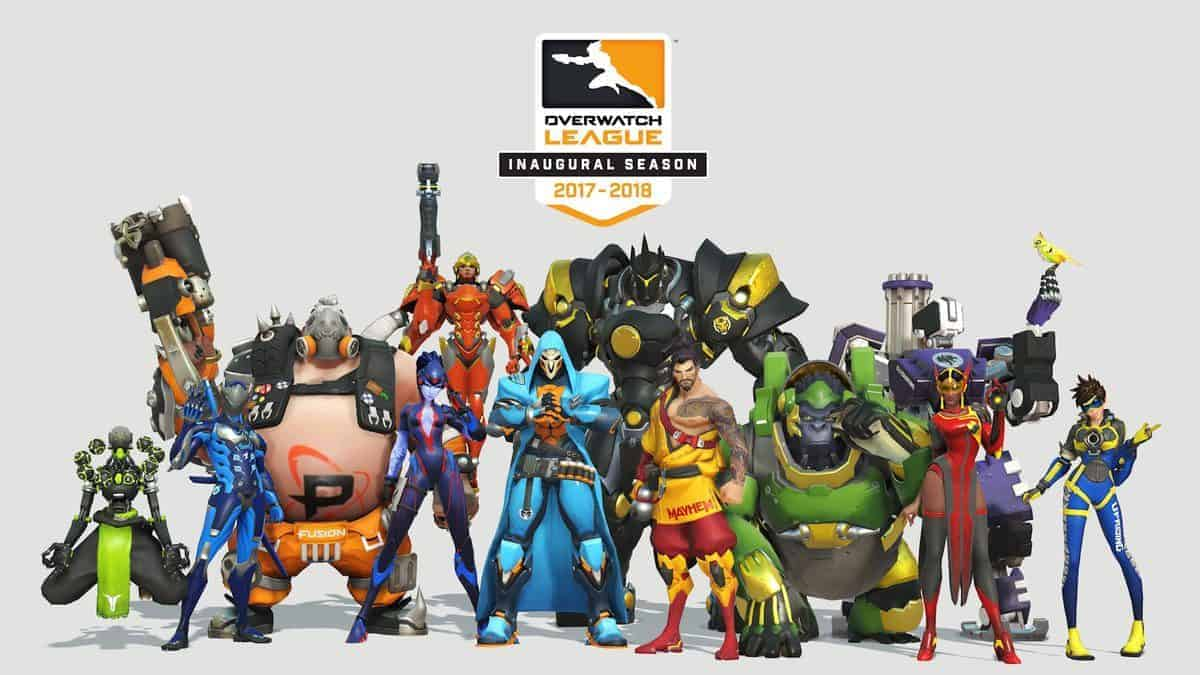 Support Your Favorite Teams by Buying Their Uniform Skins With Overwatch League Tokens