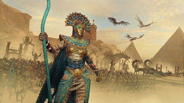 Total War: Warhammer 2 Rise of the Tomb Kings Legendary Lords