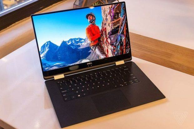 Dell XPS 15 CES 2018 AMD Integrated Graphics