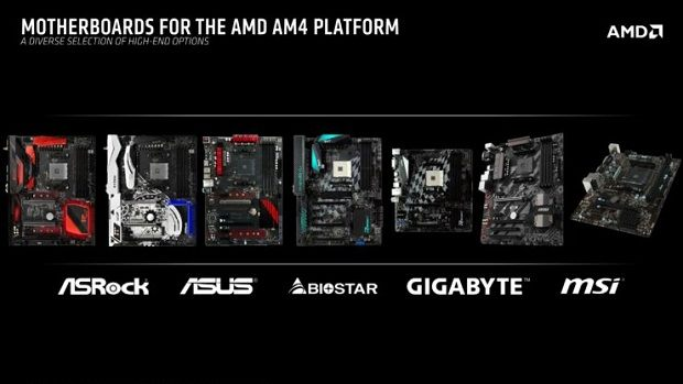 AMD AM4 Motherboards