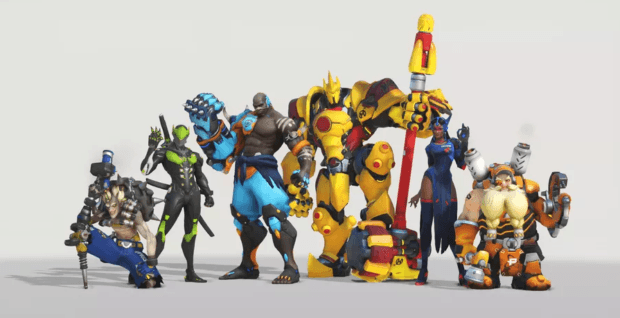Overwatch League skins are now available for every character