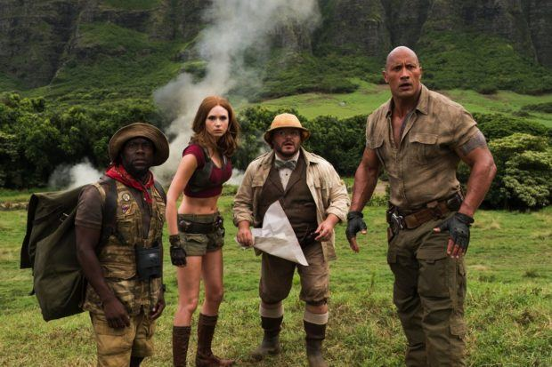 'Jumanji' stays strong, topping '12 Strong,' 'Den of Thieves' with $20 Million