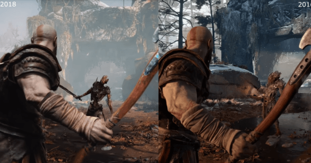 God Of War 4 Reveal vs Story Trailer Graphics Comparison, Downgrade Or Artistic Changes? (Discussion)