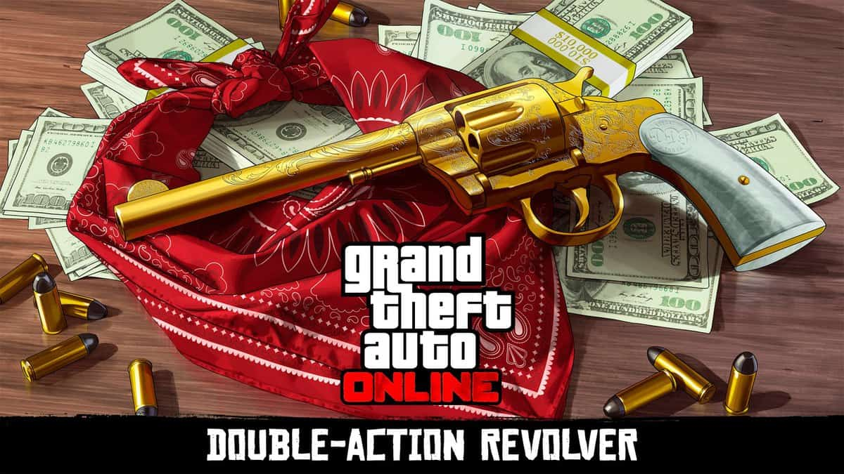 GTA Online Challenge for Red Dead Redemption 2 Weapons