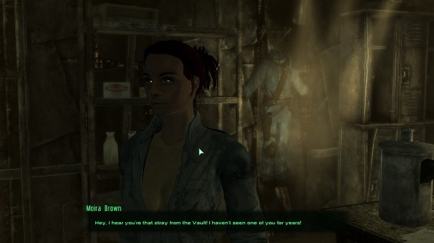 Moira Brown in Fallout 3