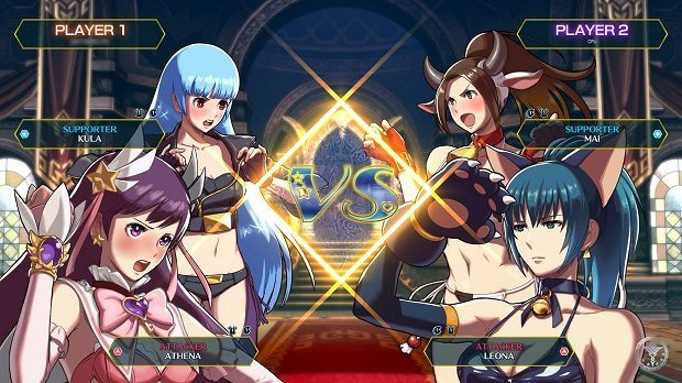 SNK Heroines Pits Woman Against Woman in Tag-Team Fighter
