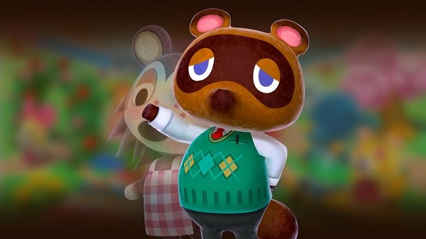 Tom Nook in Animal Crossing Games