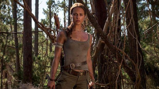 Lara Croft fulfills destiny in new 'Tomb Raider' trailer