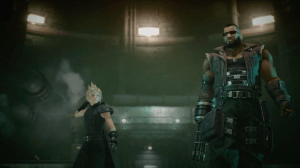 Final Fantasy VII Remake Art