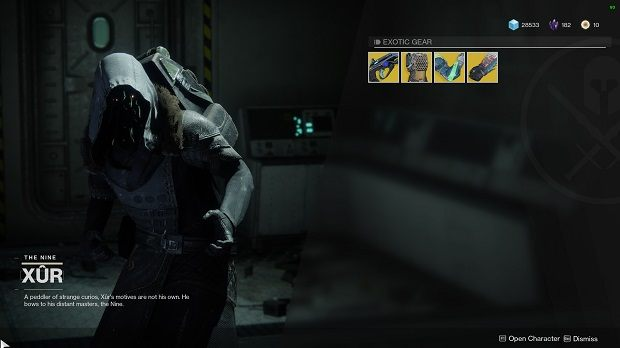 Xur in Destiny