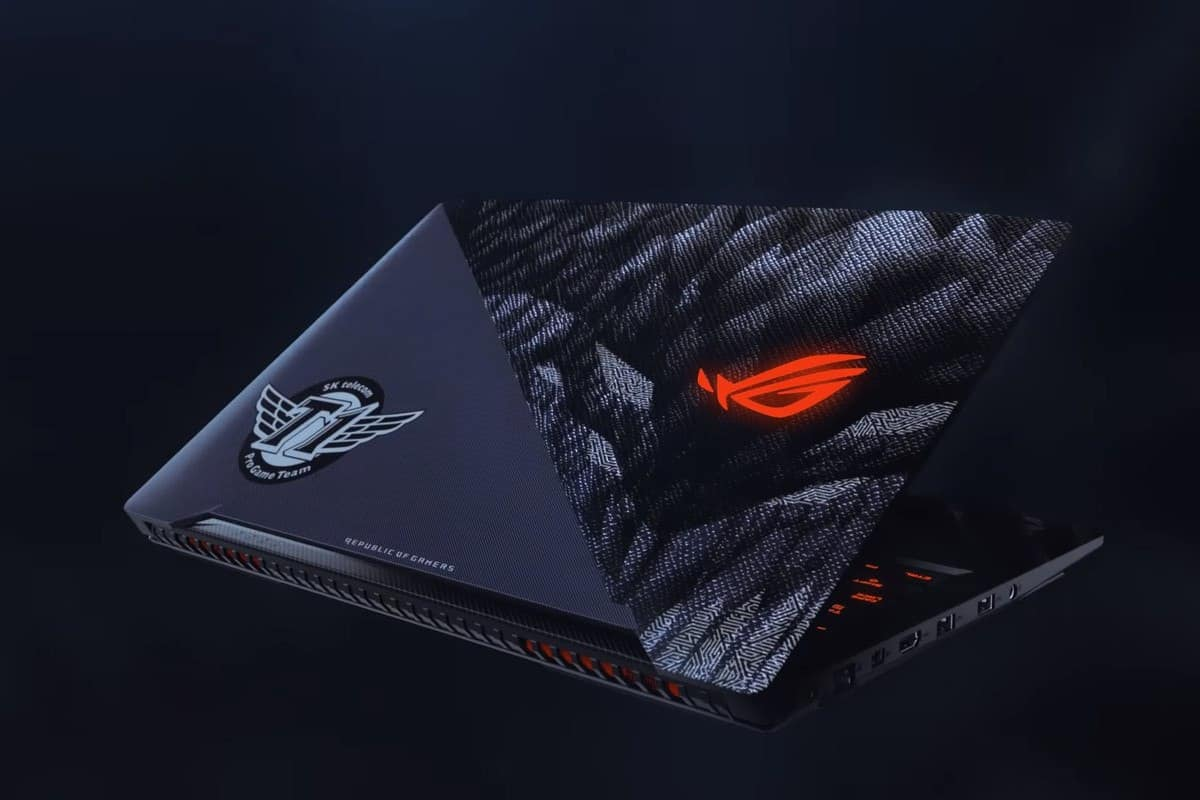 Asus ROG Strix SKT T1 Hero Edition Laptop Will Cost $1,700 in the Name of Esports