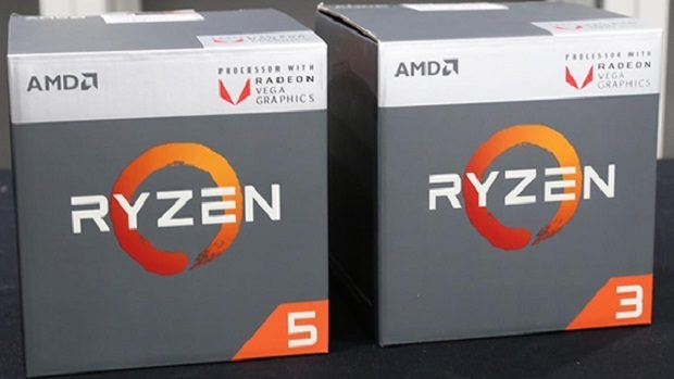 AMD launches first Ryzen desktop processors with Radeon Vega graphics