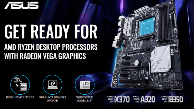 ASRock updates AM4 motherboards for Raven Ridge APUs