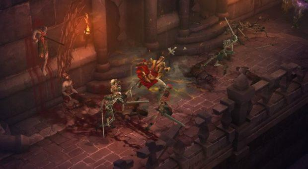 Blizzard North's Diablo III would've looked like Diablo II