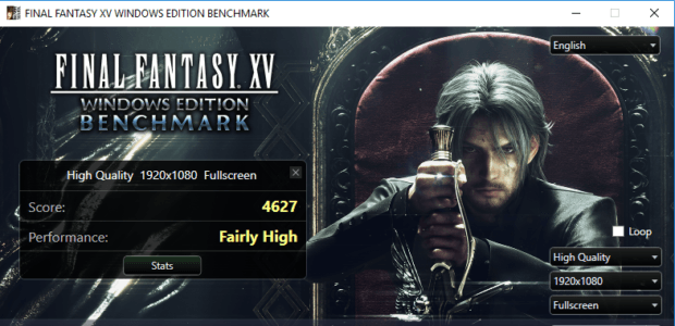 Final Fantasy XV PC Benchmarks