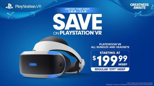 PS VR Is Getting a Massive Price Cut for a Limited Time