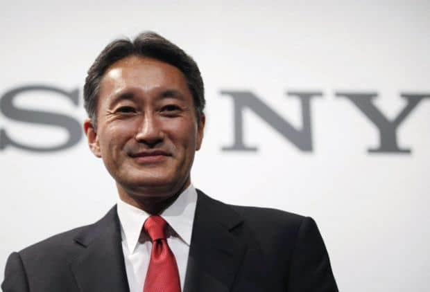 Sony CEO steps down, CFO to take top job