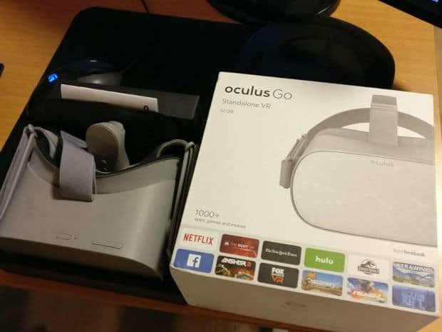 Oculus Go Leaked Packaging