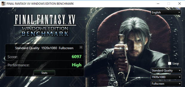 Final Fantasy XV Benchmarks