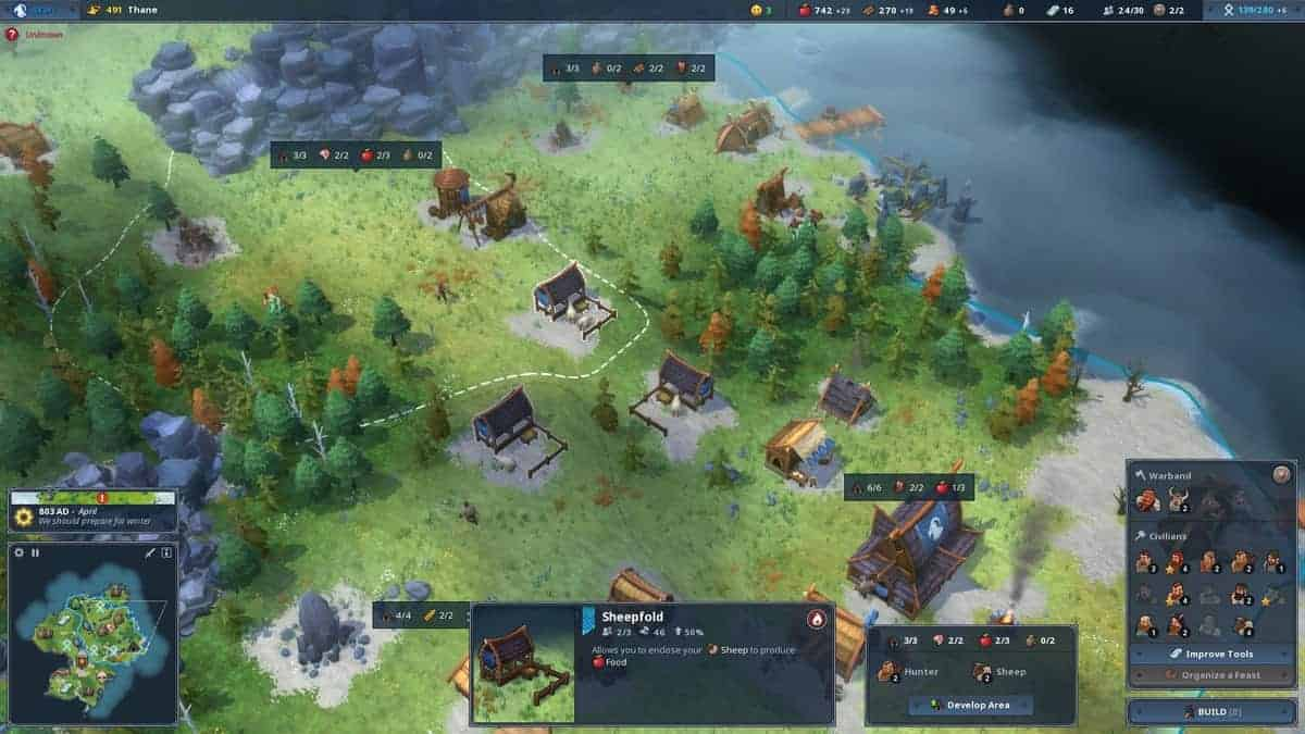 Northgard Nintendo Switch Is The Same As Other Platforms Despite Difficulties