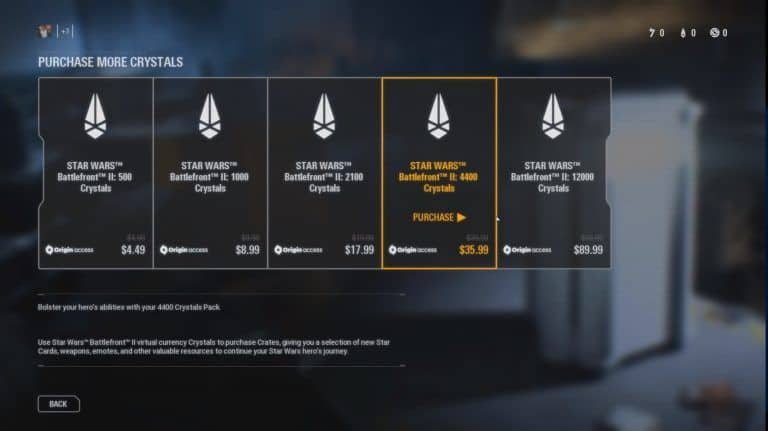 Star Wars: Battlefront II Microtransactions