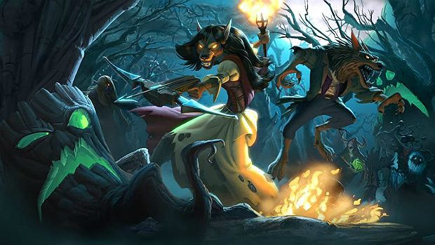 Hearthstone Gets Spooky with The Witchwood, Its First Expansion of 2018