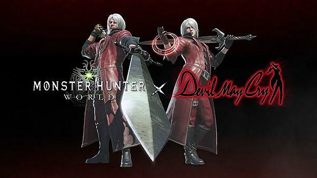 Devil May Cry HD Collection and Dante Coming to Monster Hunter