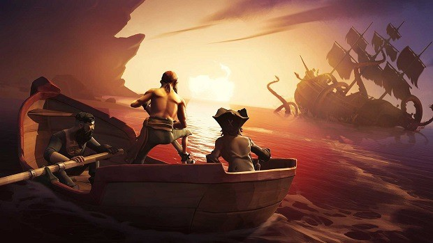 Who is Sea of Thieves Mysterious Stranger Guide?