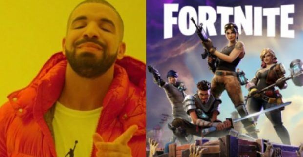 Drake plays 'Fortnite' with 'Ninja', helps break record