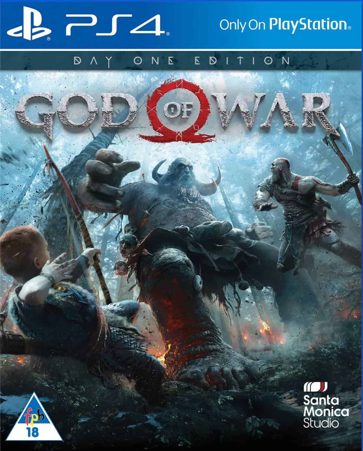 God Of War 4's Exclusive Cover