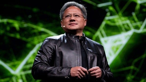 Cryptocurrency Blockchain Nvidia CEO Jensen Huang
