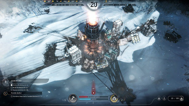 Frostpunk Buildings Guide – How To Build, Building Types, Tips (People, Health, Food, Resources, Technology)