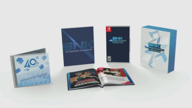 Relive History In The SNK 40th Anniversary Collection On Nintendo Switch