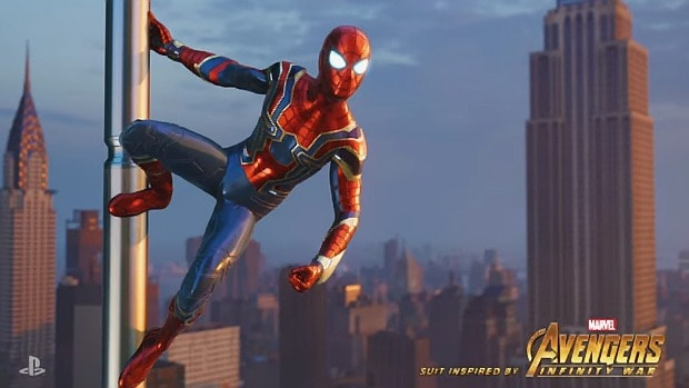 Spider-Man PS4 Gives You The Ability To Change Weather And Time