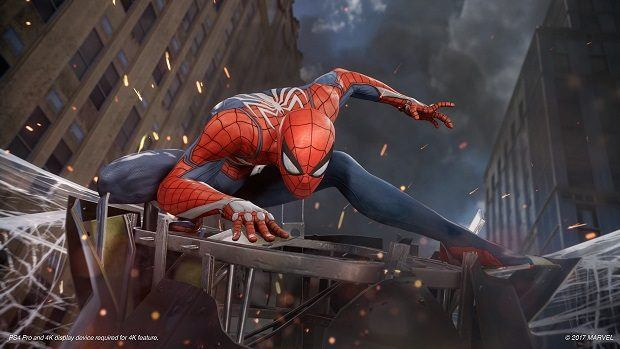 Spiderman on PS4 Pro, Spiderman PS4