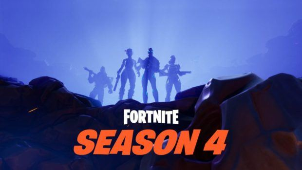 Fortnite season 4 shakes the game up with a meteor strike