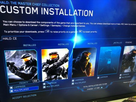 Halo: The Master Chief Collection Update Will Feature Custom Download