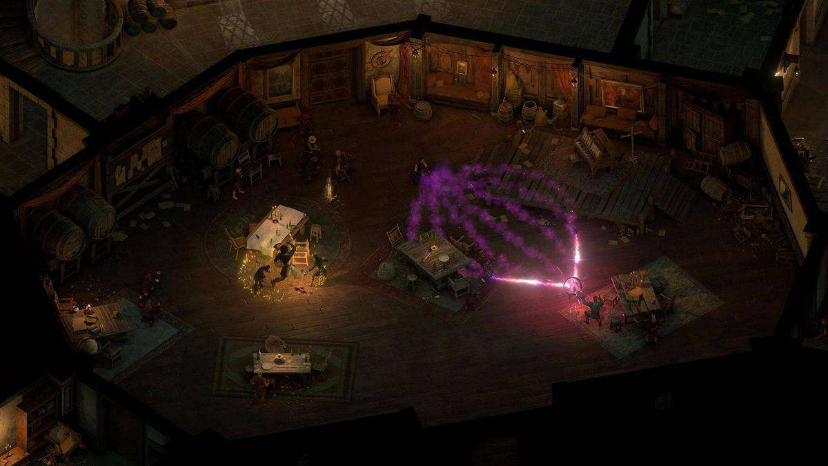 Pillars of Eternity 2 Deadfire Combat (2)