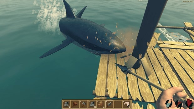 How To Kill Sharks In Raft (Hunting Tips)