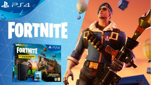 Fortnite PS4 Bundle Revealed Along With Exclusive Skin