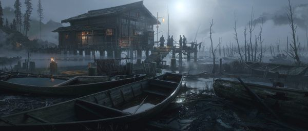 Here is Some Impressive Artwork Of Ghost of Tsushima and Days Gone