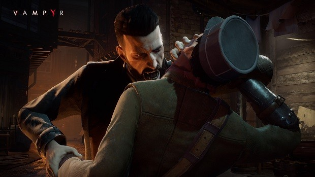 How to Suck Blood in Vampyr?