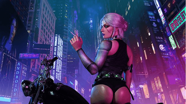Cyberpunk 2077 The Witcher