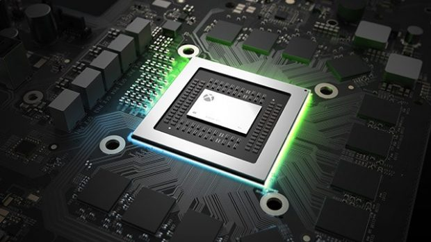 Xbox One X CPU, True 4K