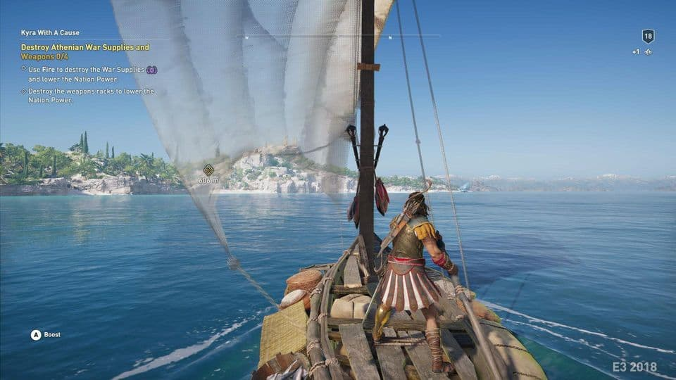 Assassin's Creed Odyssey Naval Exploration is Fast-Paced