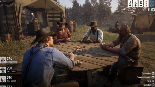 Red Dead Redemption 2 - Playing Cards, Red Dead Online